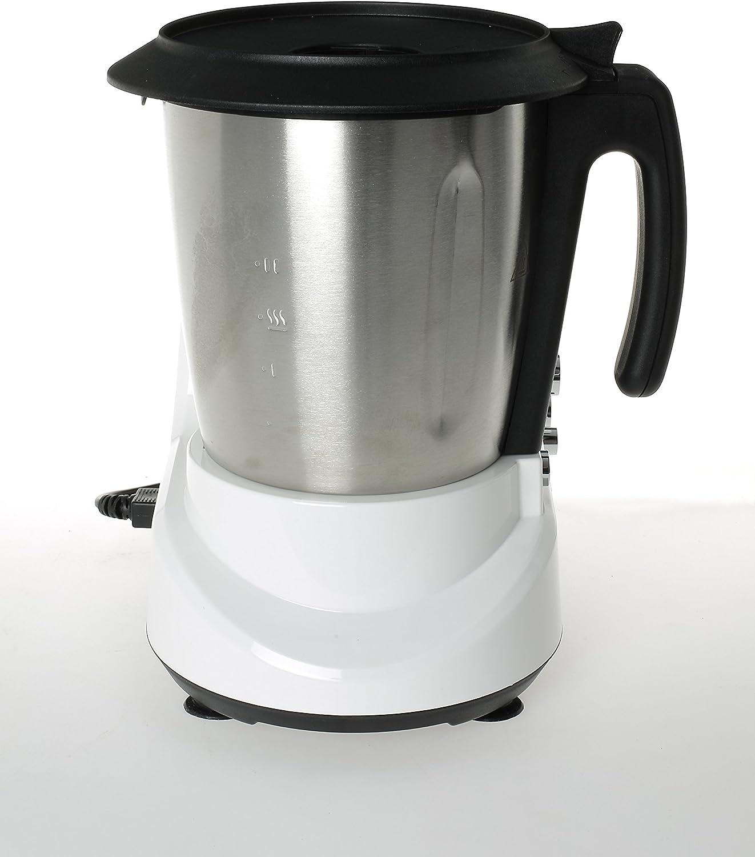 Erika SH-398 Olla eléctrica, 1000 W, 2.5 litros, Acero Inoxidable, Blanco: Amazon.es: Hogar