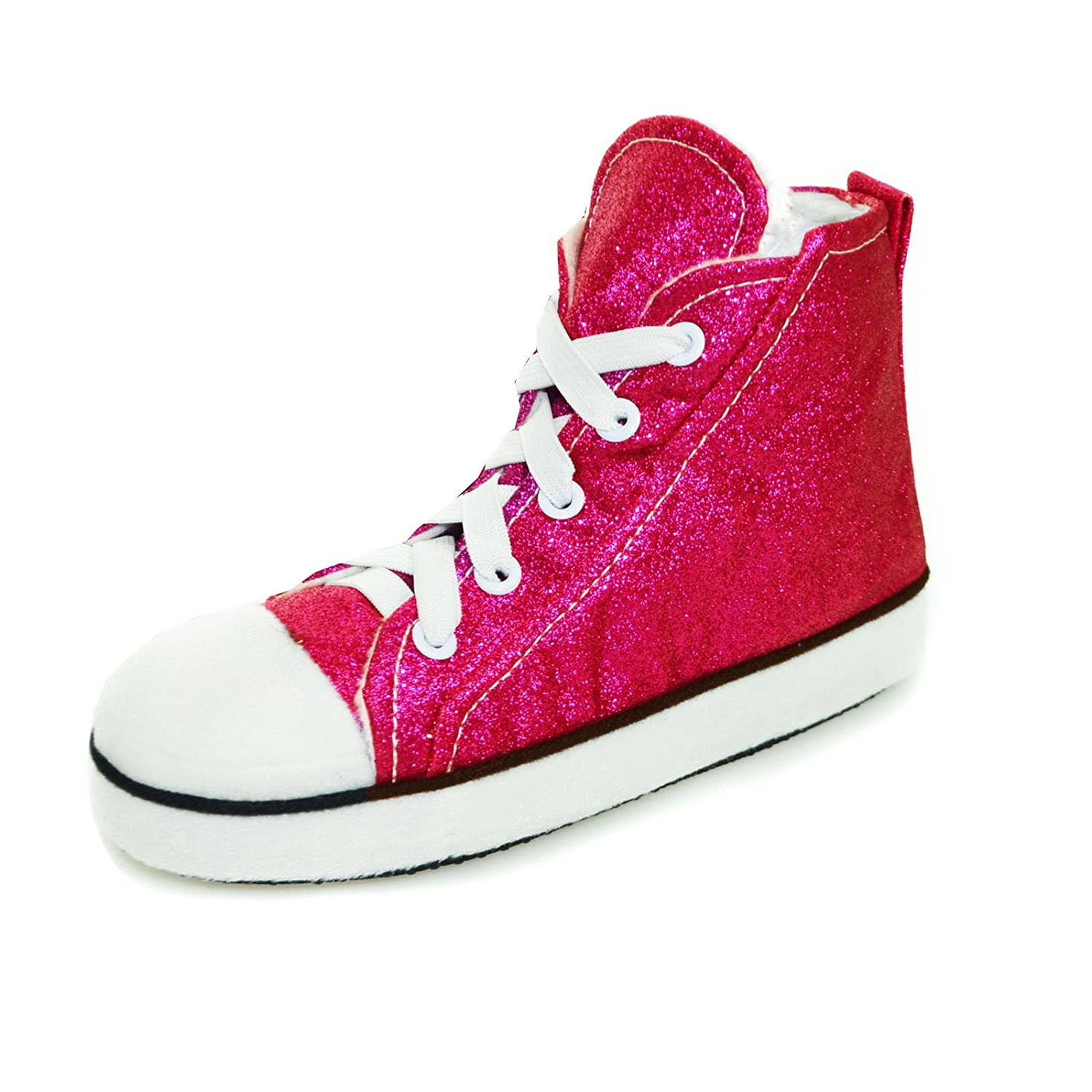 f7c05ff4efe Something Special Mens Womens   Kids Runner High Top Fleece Lined Slipper  Boots  Amazon.co.uk  Shoes   Bags
