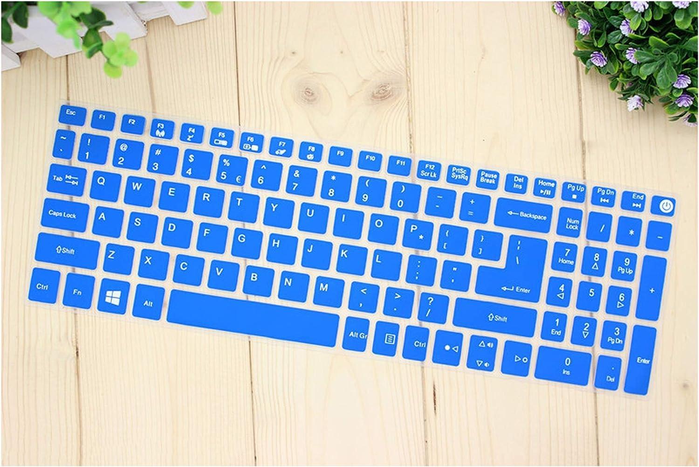 15.6 Inch Keyboard Cover Protector for Acer Aspire E15 E 15 E5 576 E5576 V3 V15 E5 553G/575G/Aspire 3 5 7 Serie,Blue