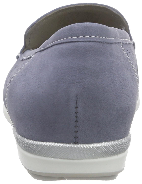 ARA Monterey Damen Monterey ARA Mokassin Blau (Jeans/Silber 08) 5f9d51