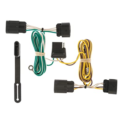 CURT 56094 Vehicle-Side Custom 4-Pin Trailer Wiring Harness for Select Chevrolet Equinox, GMC Terrain: Automotive