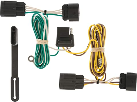 Amazon.com: CURT 56094 Vehicle-Side Custom 4-Pin Trailer Wiring Harness for  Select Chevrolet Equinox, GMC Terrain: AutomotiveAmazon.com