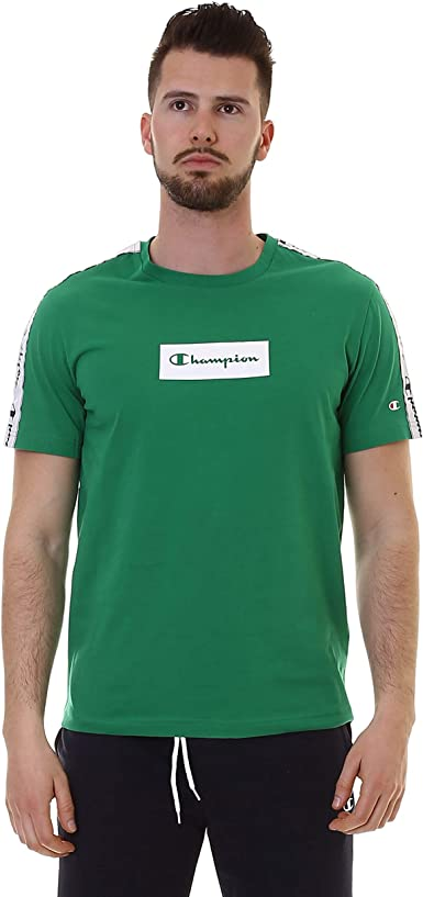 Champion Men T-Shirt Crewneck 213017: Amazon.es: Ropa y accesorios