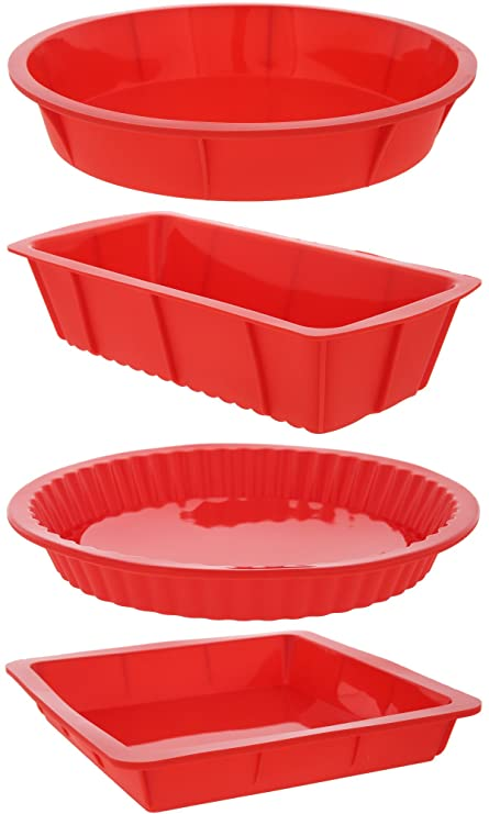 Review Juvale 4 Piece Bakeware