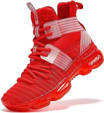 VITUOFLY Kids Basketball Shoes Boys