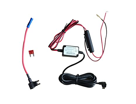 Direct Mini USB Hardwire DC Car Charger Kit for Dash Cam Camcorder Vehicle Kit