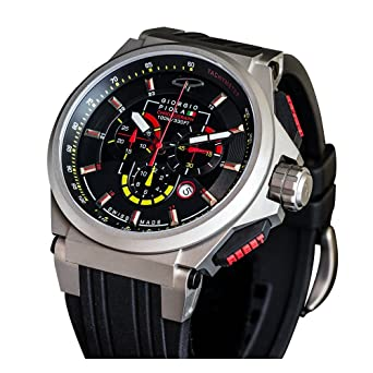 Amazon.com: GIORGIO PIOLA STRAT-3 LIMITED EDITION WATCH (Matte Titanium): GIORGIO PIOLA: Watches