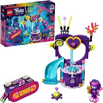 LEGO Trolls - Fiesta de Baile en Techno Reef, Juguete de Construcción Inspirado en la Película de Animación, Incluye Muñecos de Varios Personajes, a Partir de 5 Años (41250): Amazon.es: Juguetes y juegos