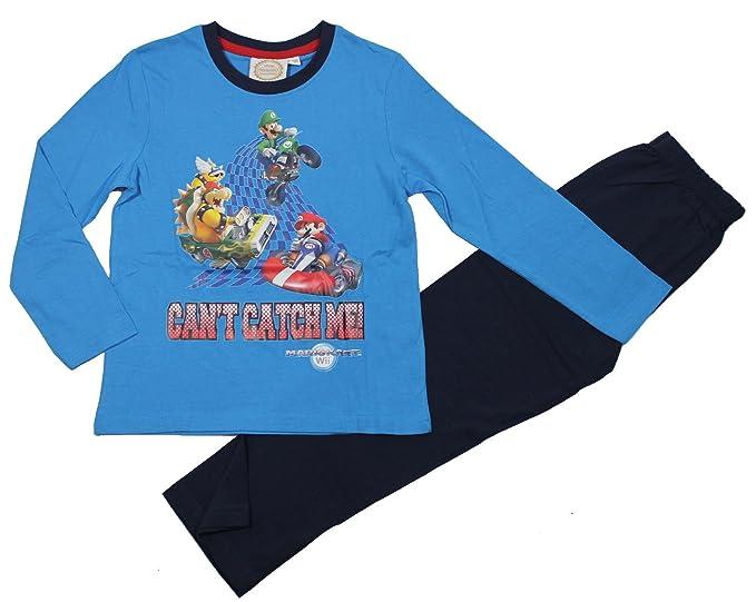 Super Mario Bros Pijama para Niños - Negro - 140