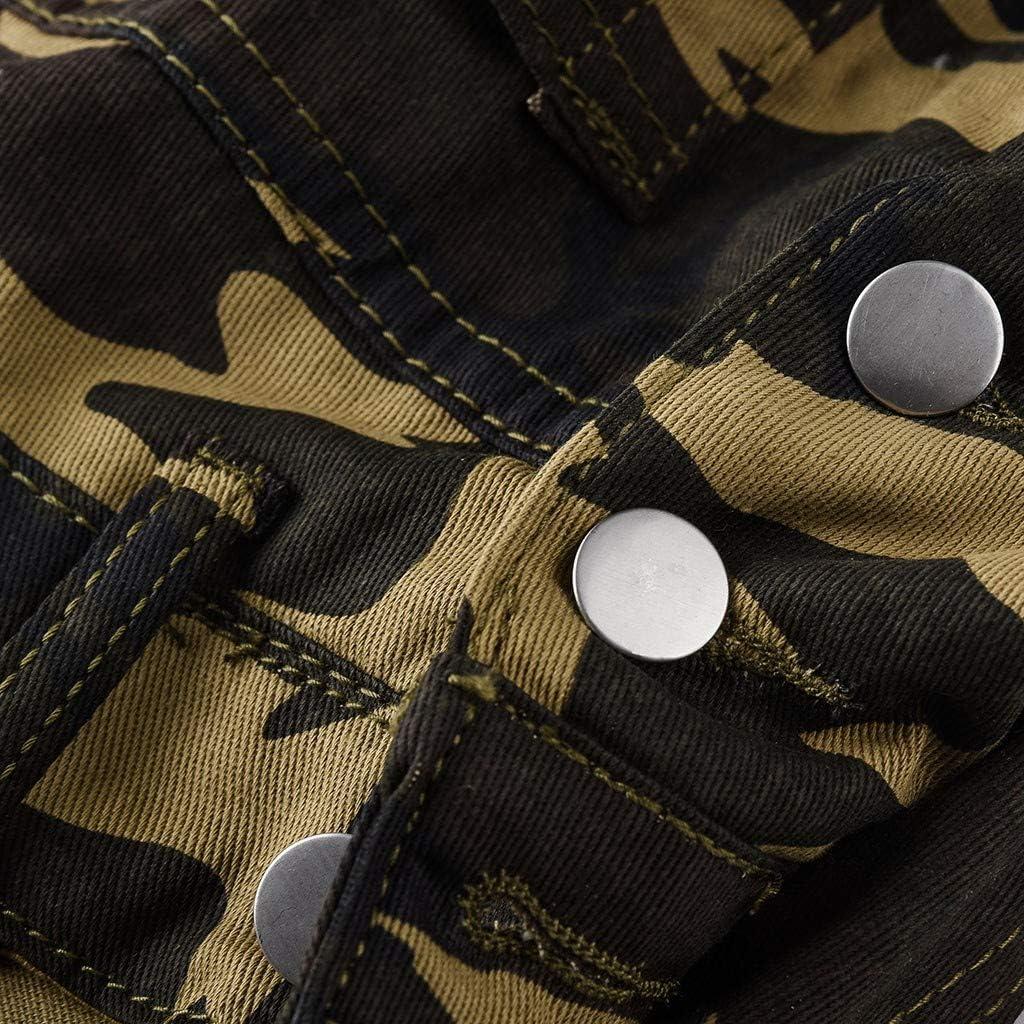 F/_Gotal Mens Slim Fit Ripped Denim Distressed Bib Overalls Jumpsuit Jeans Slim Jumpsuit Hip Hop Streetwear Pants