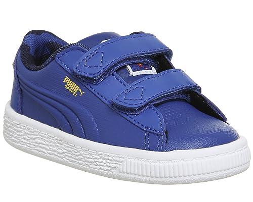 01 In 364003 Puma Superman Sneakers Scarpe Jl Amazon Blu Pelle Baby zXqzHBwFAx