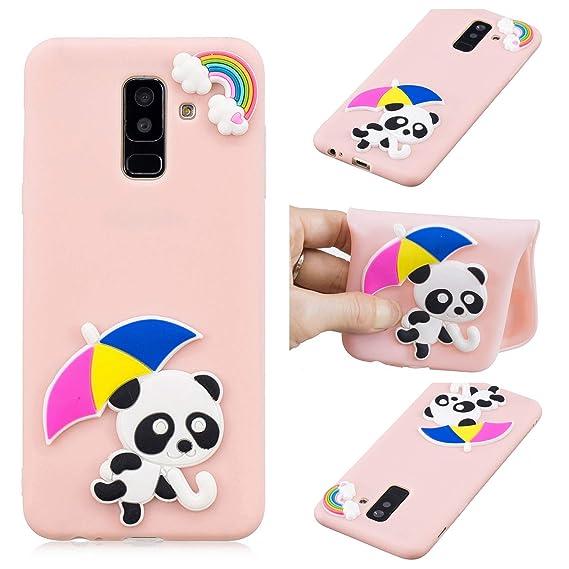 cover samsung a6 2018 panda