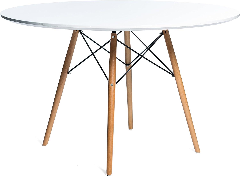 Noorsk Design Mesa de Comedor o Cocina Redonda Karelia2 100