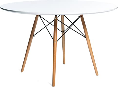 Noorsk Design Conjunto de Mesa 100 + 4 sillas Tower: Amazon.es ...