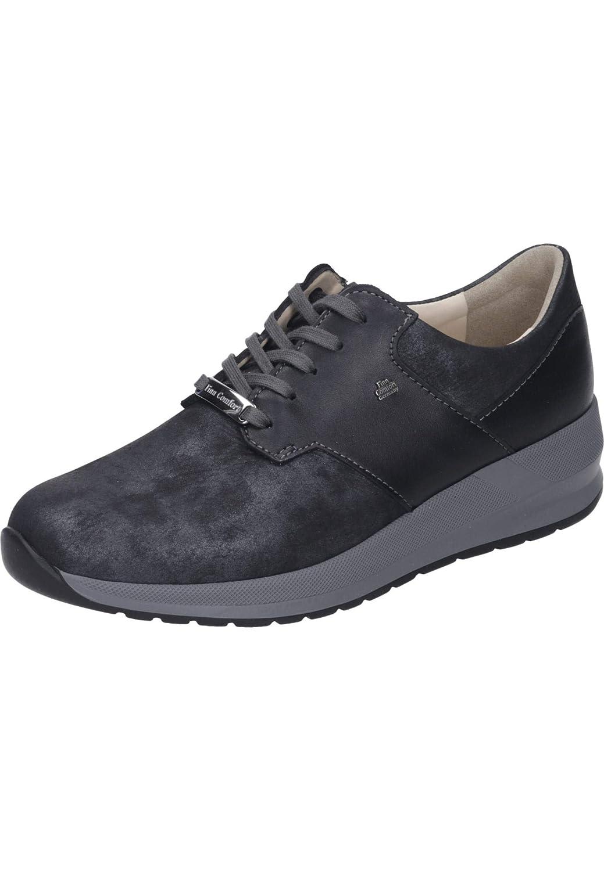 Finn Comfort , Chaussures Finn de Ville , à Lacets pour de Femme Noir b7d9357 - epictionpvp.space