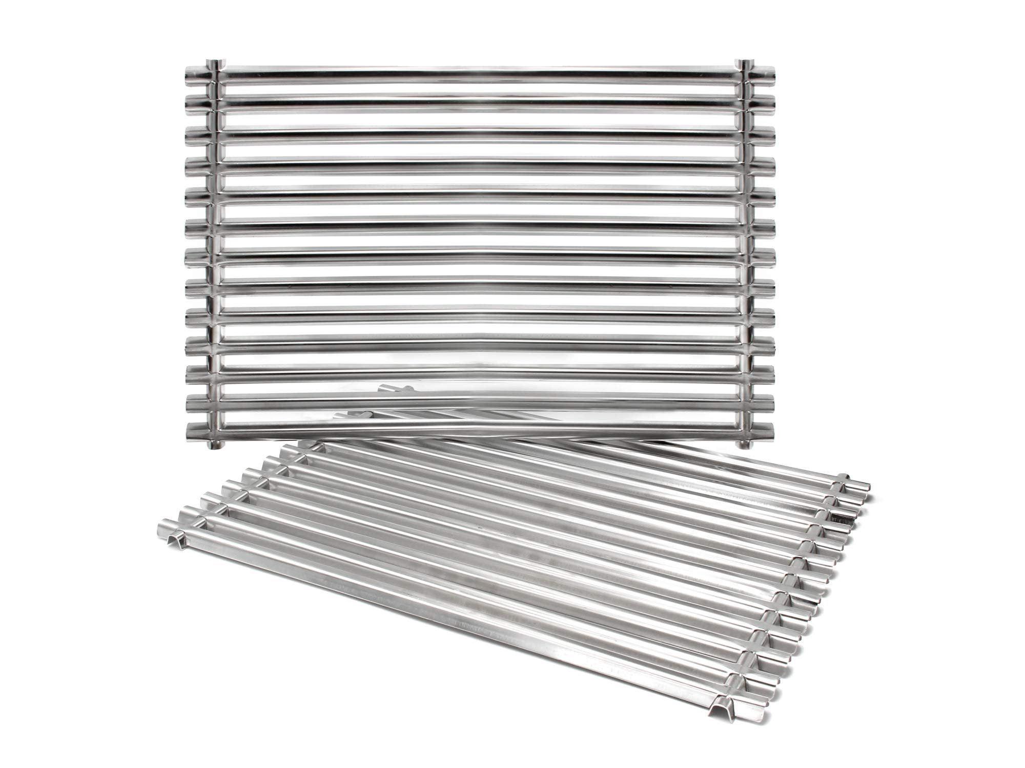 Hongso 7521 7522 15'' 304 Stainless Steel Cooking Grid Grates for Weber Old Spirit E-210 Spirit S 200 Series (with Side-Mounted Control Panels) Genesis Silver A Spirit 500 Gas Grills 65905 7523 SCG521 by Hongso