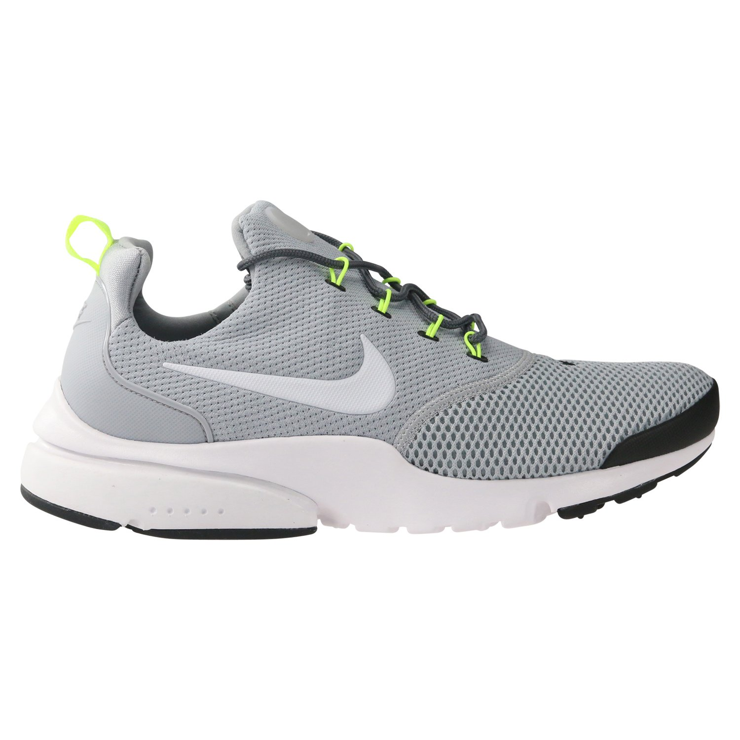 Nike Presto Fly Mens Running Trainers 908019 Sneakers Shoes (UK 11 US 12 EU 46, Wolf Grey White Black 013)