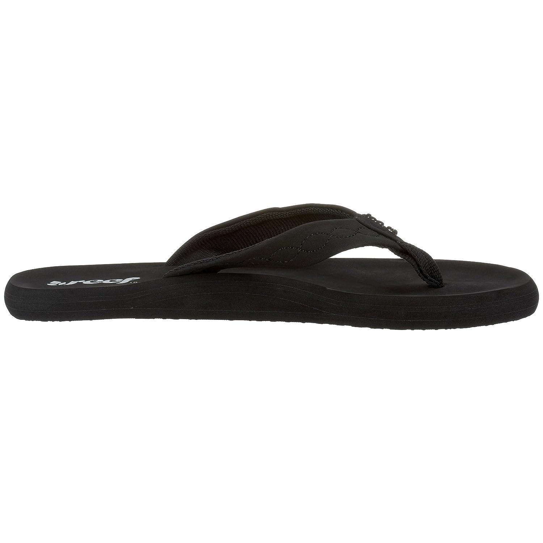 612daa405f8 Reef Women s R1585BK2 Flip Flop Black Size  8 UK  Amazon.co.uk  Shoes   Bags