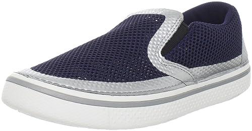 Crocs HOVER FUZE - Zapatillas de deporte para hombre, color azul, talla 42: Amazon.es: Zapatos y complementos