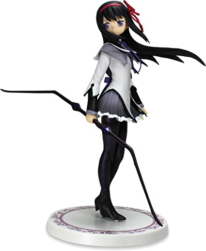 Amazon.com: Banpresto SQ Figure Puella Magi Akemi Homura 9 ...