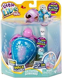 Amazon com: Little Live Pets S4 Lil' Turtle Tank - Snowflake