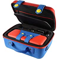 Carrying Storage Case for Nintendo Switch Large Protective Hard Shell Travle Bag Soft Lining 26 Games for Switch Console…