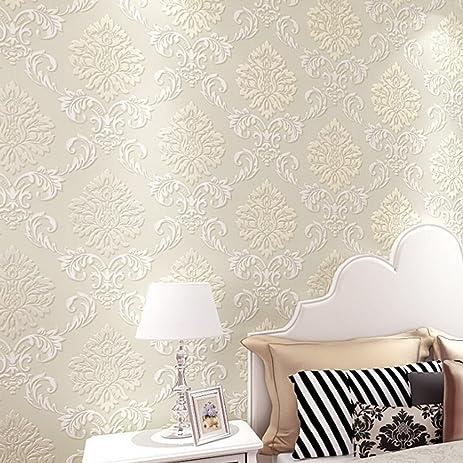 Cheesea Modern 10M Embossed Wallpaper Flocking NonWoven Embossed