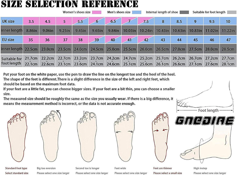 GNEDIAE Mujer Hombre High-Top Zapatilla Baloncesto Calzado Deportivo Al Aire Libre Moda Sneaker Antideslizante Zapatillas de Deporte Ligeros Zapatos para Correr Transpirable Lace Up