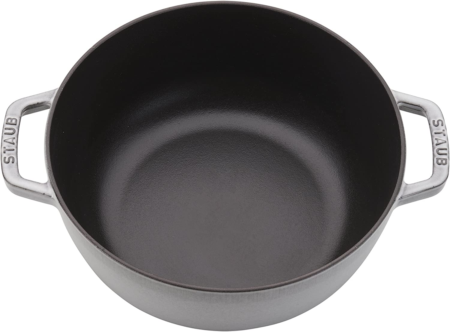 Staub Cast Iron 3.75-qt Essential French Oven Rooster – Graphite Grey