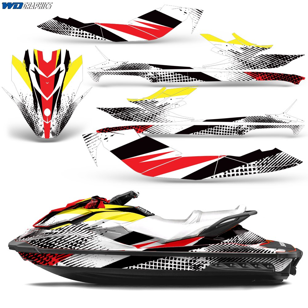 Amazon com: Wholesale Decals SeaDoo Bombardier GTI SE130