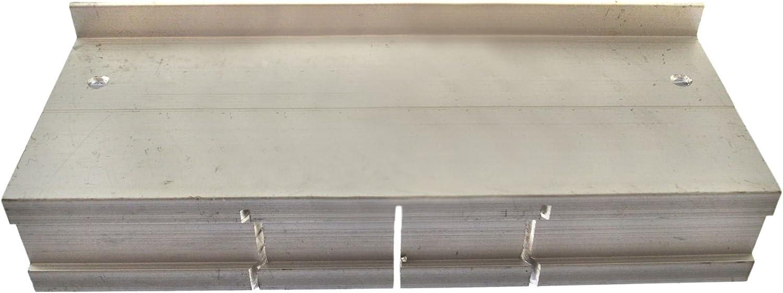 Mini caja de aluminio de inglete sierra de corte guía 45 90 180 ...