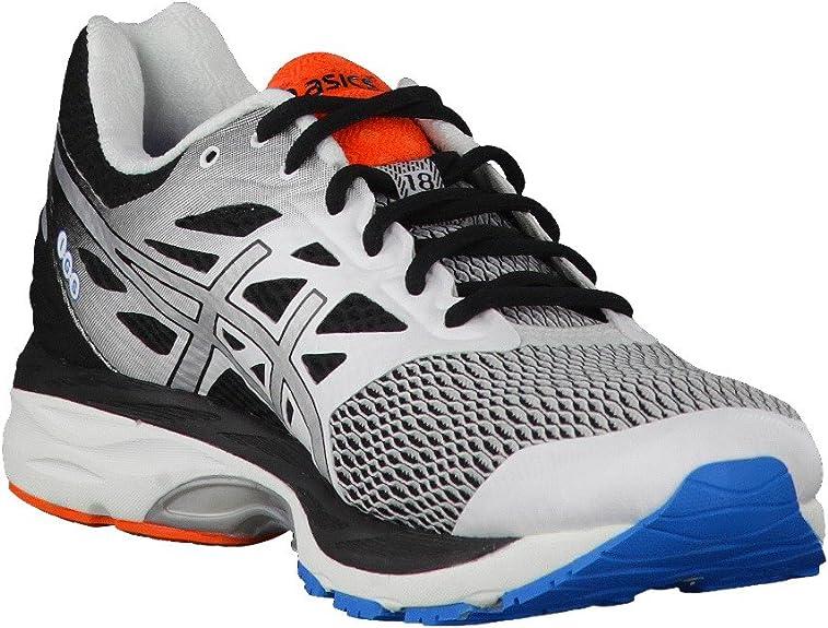 Asics Gel-Cumulus 18, Zapatillas de Running para Hombre, Blanco (White/Silver/Black), 42.5 EU: MainApps: Amazon.es: Zapatos y complementos