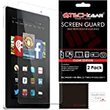 TECHGEAR [Pack of 2] Screen Protectors for New Amazon Fire HD 6/6 inch (2014 Edition / 4th Gen / HD6) Premium - Clear Lcd Screen Protector Covers (Not For Older Generation Amazon Tablets!)
