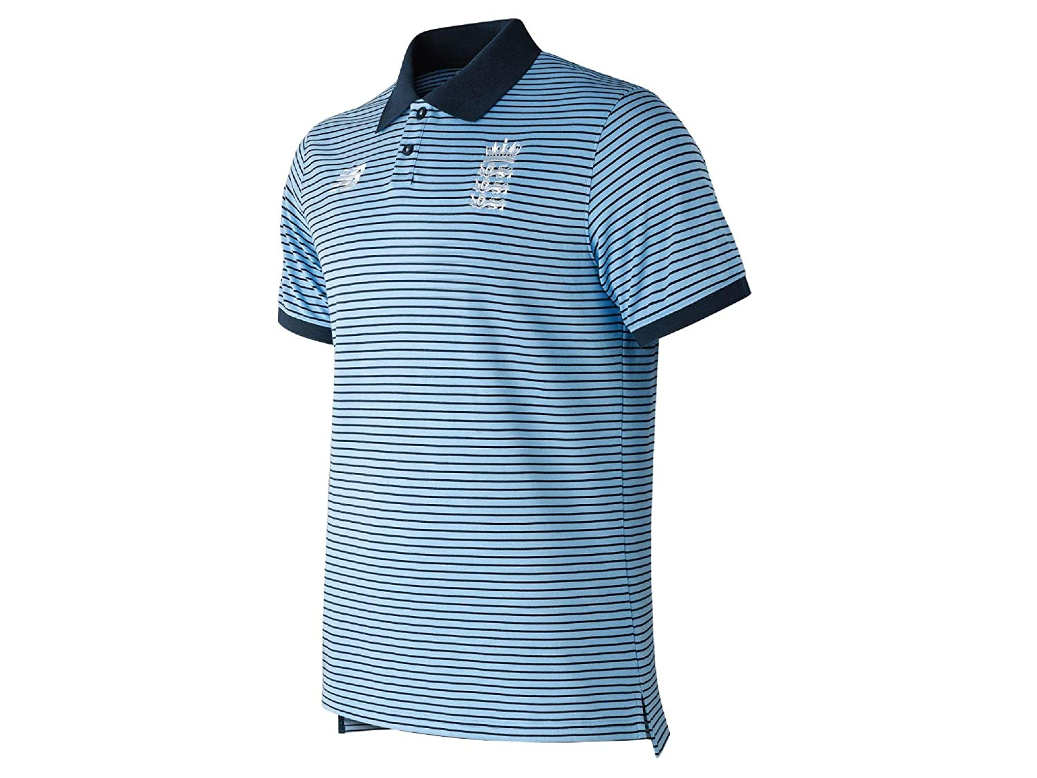 New Balance Ecb Wc19 Travel Short Sleeve Polo Camiseta, Hombre ...