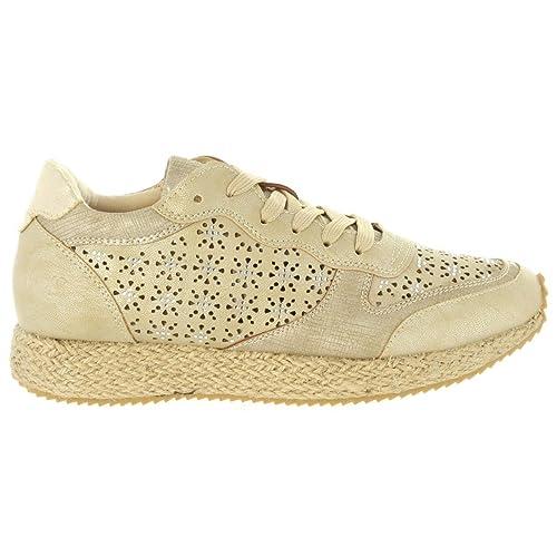 Zapatillas Deporte de Mujer LOIS JEANS 85606 200 Oro: Amazon.es: Zapatos y complementos