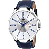 Eddy Hager Blue Day and Date Men's Watch EH-149-BL
