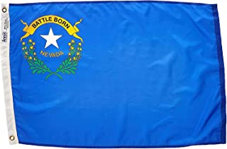 product image for Annin Flagmakers Model 143350 Nevada Flag Nylon SolarGuard NYL-Glo, 2x3 ft, 100% Made in USA to Official State Design Specifications