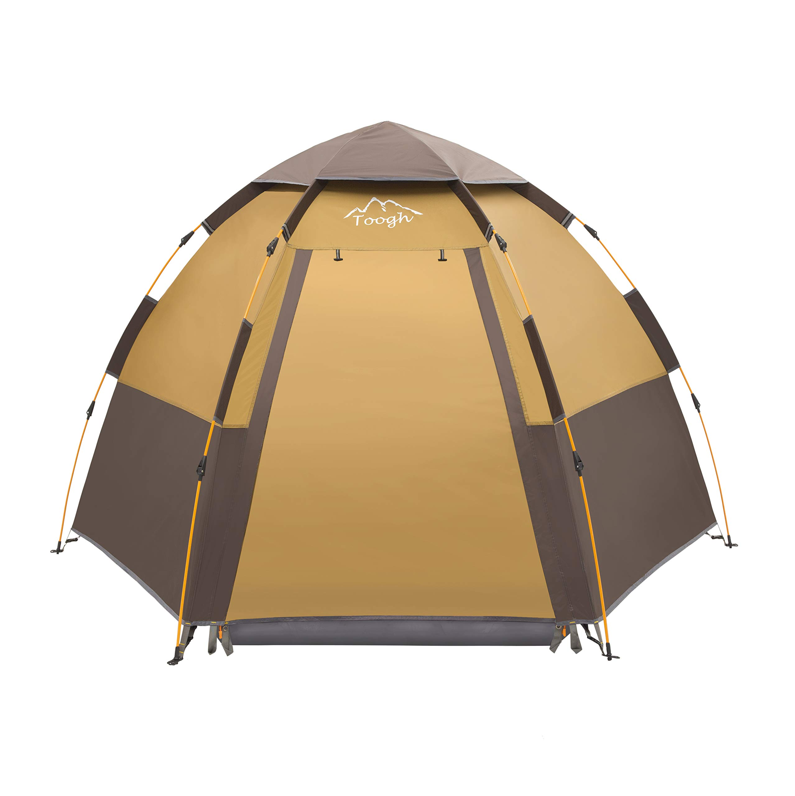 Toogh 3-4 Person C&ing Tent Backpacking ...  sc 1 st  BSA Soar & Toogh 3-4 Person Camping Tent Backpacking Tents Hexagon Waterproof ...