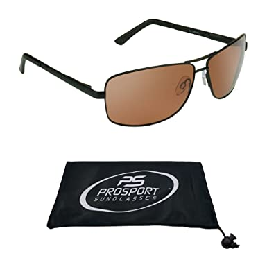 67727f6f10 Amazon.com  Polarized Aviator Sunglasses with premium TAC Polarized High  Definition HD lenses and durable high nickel metal frames.