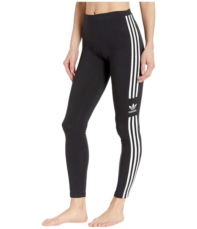 [adidas(アディダス)] レディースパンツジャージレギンス Trefoil Tights [並行輸入品] 2XS (2XS) 27 Black 1 B07P7QD6XD