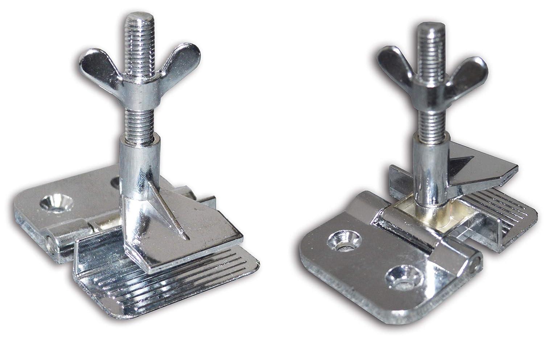 2 pcs Butterfly Frame Hinge Clamp /DIY Tool Silk Screen Printing Hobby Printer Include Four Screws TJGS