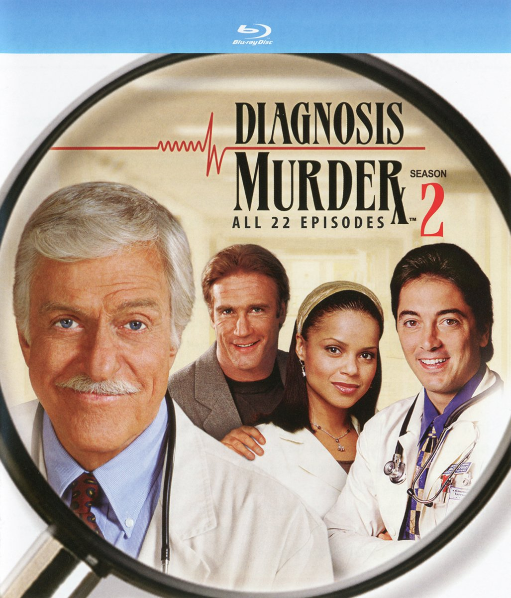 Blu-ray : Diagnosis Murder: The Second Season (3 Pack, 3PC)