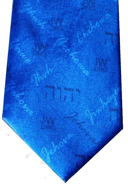 Amazon com : Blue Custom Neck Tie Jehovah in 13 Languages
