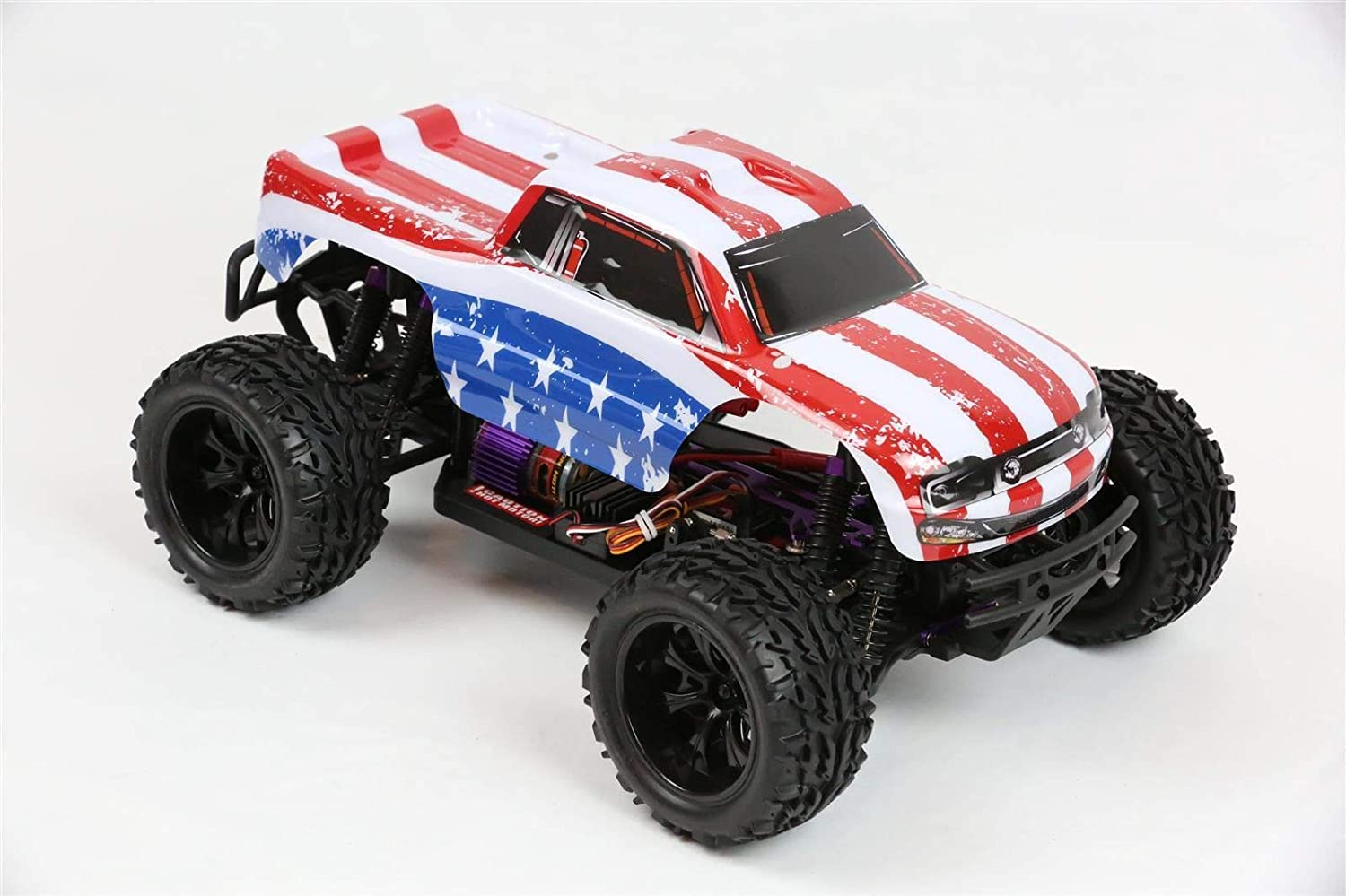 Amazon Com Summitlink Compatible Custom Body Flag Strip Style Replacement For 1 10 Scale Rc Car Or Truck Truck Not Included St St 01 Toys Games