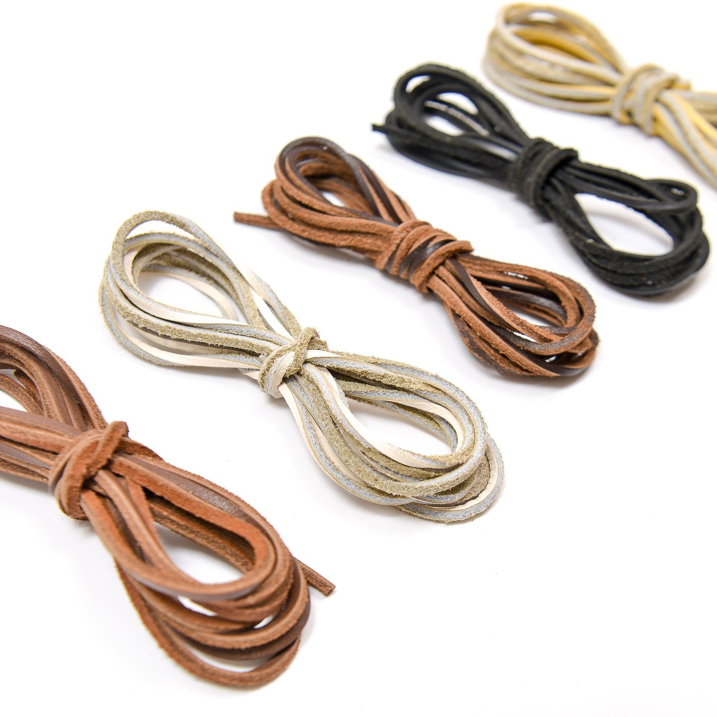 Vancool 2mm x 2m Leather Cord Suede String for Bracelet Necklace Beading Jewelry DIY Handmade Crafts Making, 5 Pieces, 5 Colors 4336861917