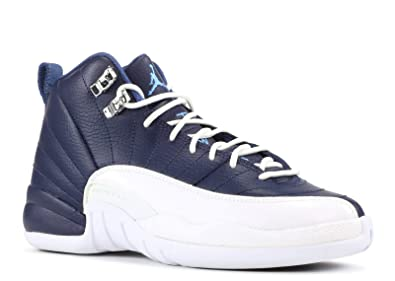 6f6915dd6526 NIKE Air Jordan 12 Retro (GS)  Obsidian  - 153265-410 -