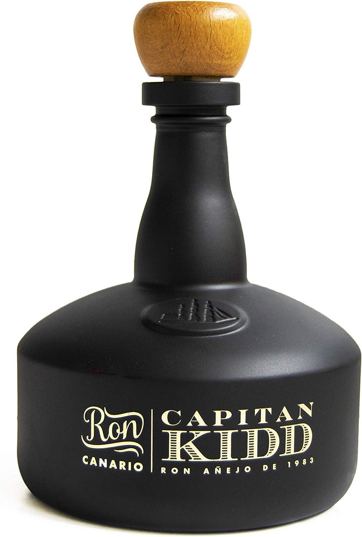 Arehucas Ron Capitán Kidd - 700 ml: Amazon.es: Alimentación ...