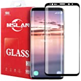 MSLAN Galaxy S9 Screen Protector, Full Coverage HD Clear 3D Tempered Glass,[Edge-to-Edge][Easy Installation][High Definition][Anti-Scratch][9H Hardness] Screen Protector Compatible Samsung Galaxy S9