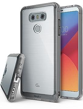 Ringke Funda LG G6 / G6 Plus [Fusion] Protector de TPU con Parte Posterior Transparente de PC [Protección contra caídas] Carcasa Protectora biselada - ...