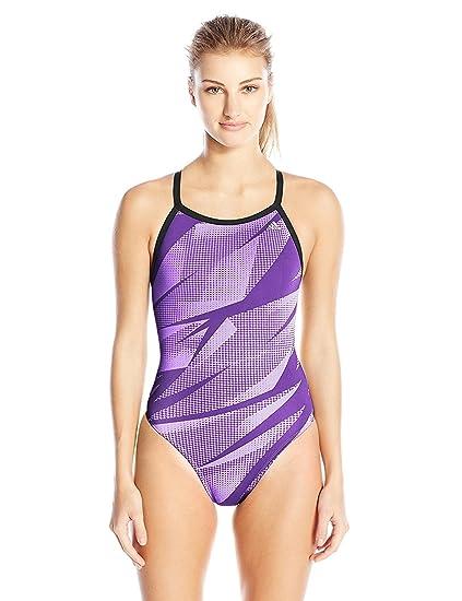 bc45919e4232b adidas Women's Shock Energy Vortex Back Performance One Piece Swimsuit
